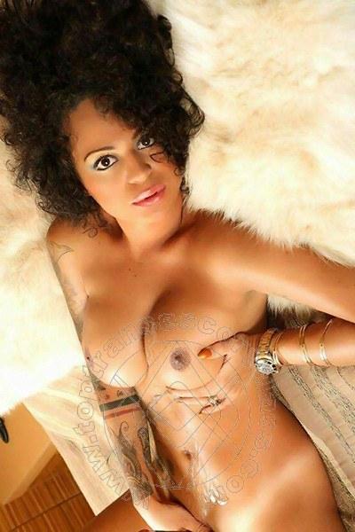 Half nude photo